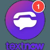 دانلود TextNow - آخرین آپدیت برنامه تکست ناو اندروید