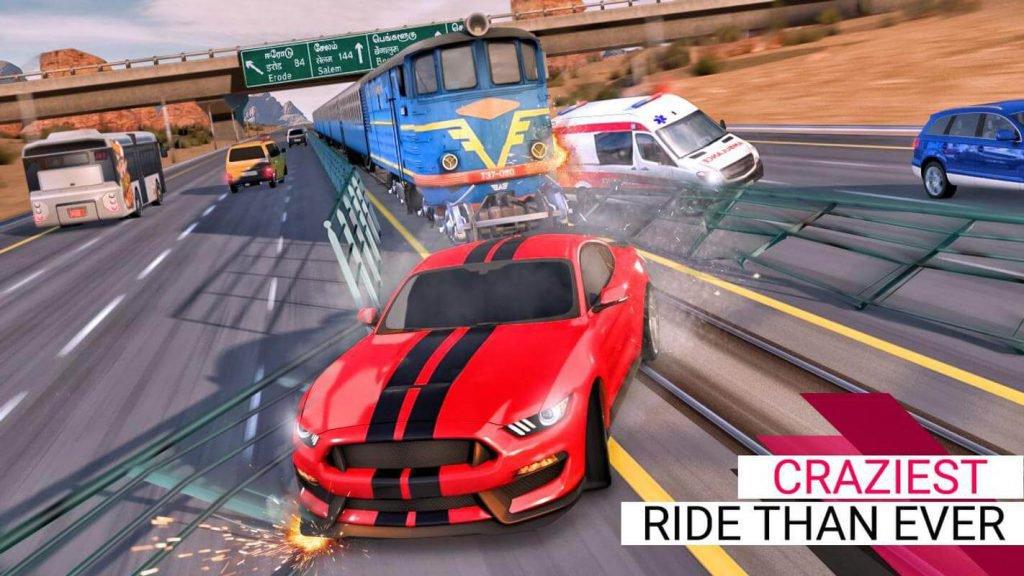 Car Racing Ferocity 3D Endless-4