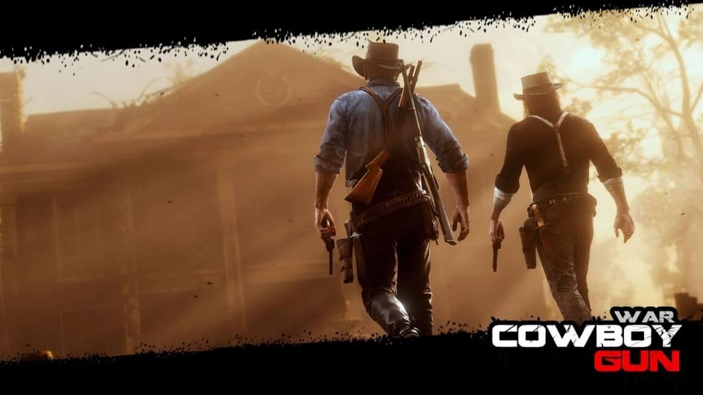 Cowboy Gun War-1