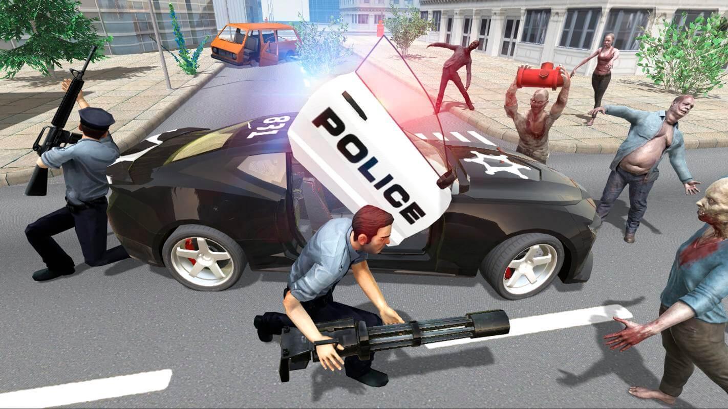 Police vs Zombie -1