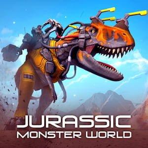 Jurassic Monster World Logo
