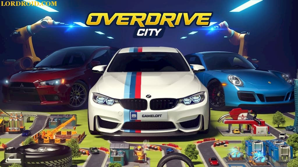 Overdrive City Poster