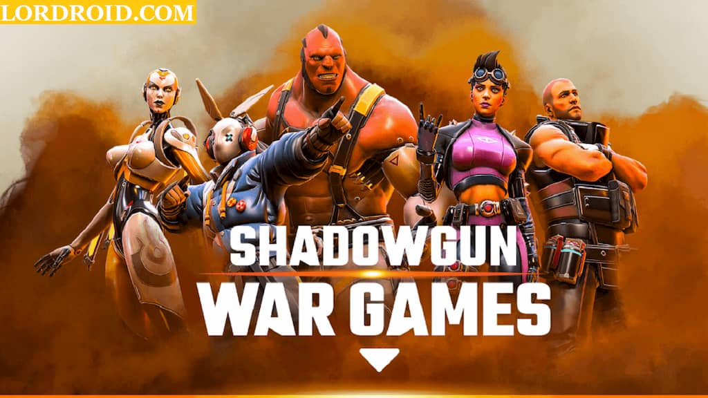 Shadowgun War Games Cover