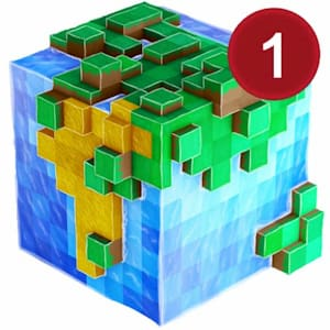 WorldCraft 3D Build & Craft Icon