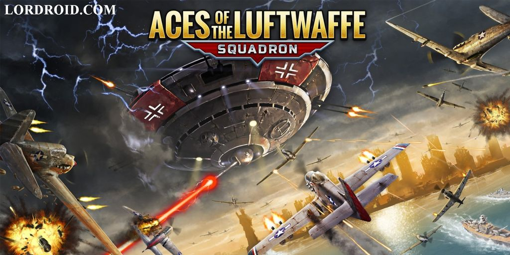 Aces of the Luftwaffe Squadron Android Game