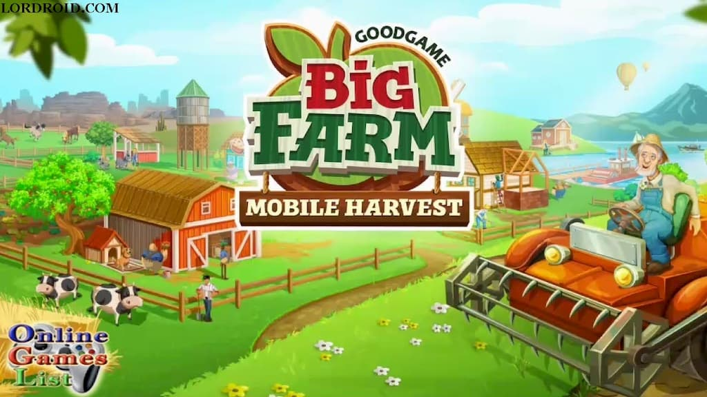 Big Farm Mobile Harvest Cover