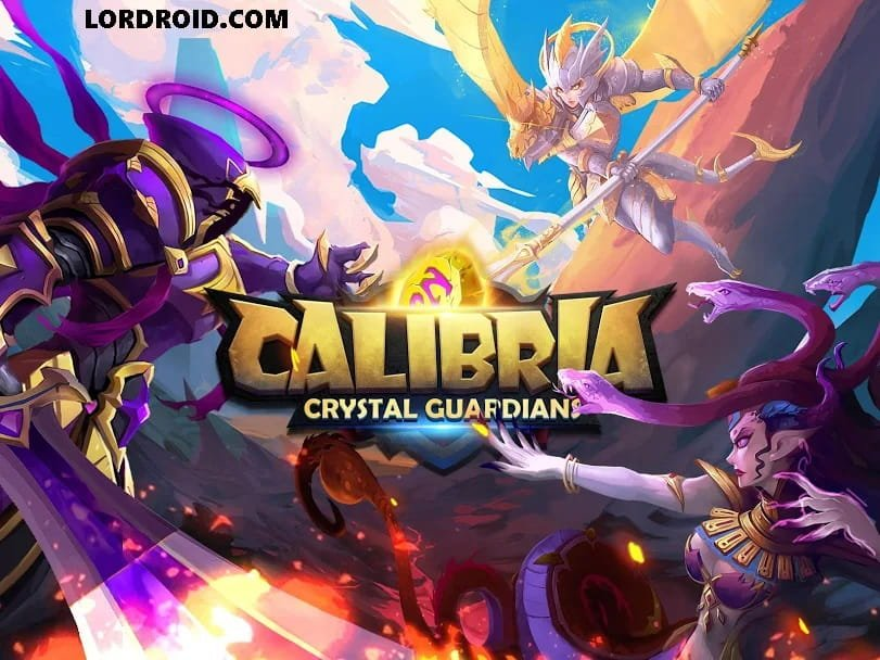 Calibria Crystal Guardians Cover