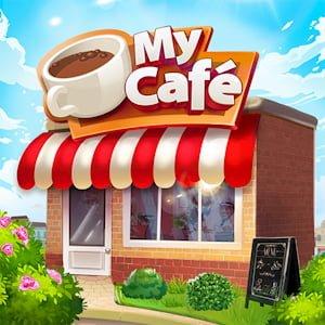 My Cafe Restaurant game Logo