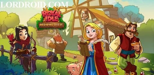 Royal Idle Medieval Quest Android Game