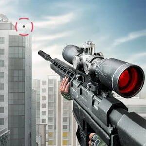 Sniper 3D Assassin Logo