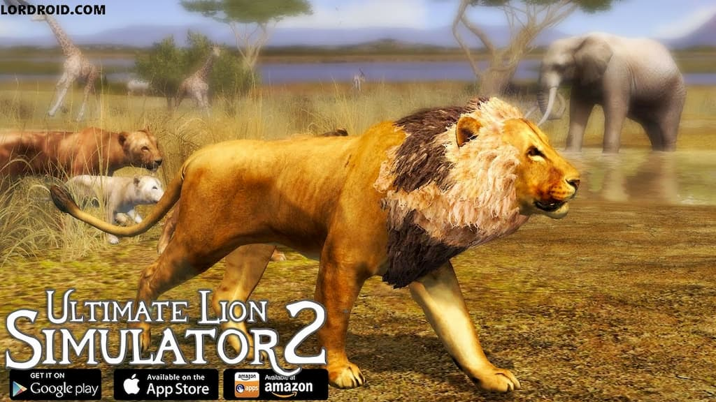 Ultimate Lion Simulator 2 Cover