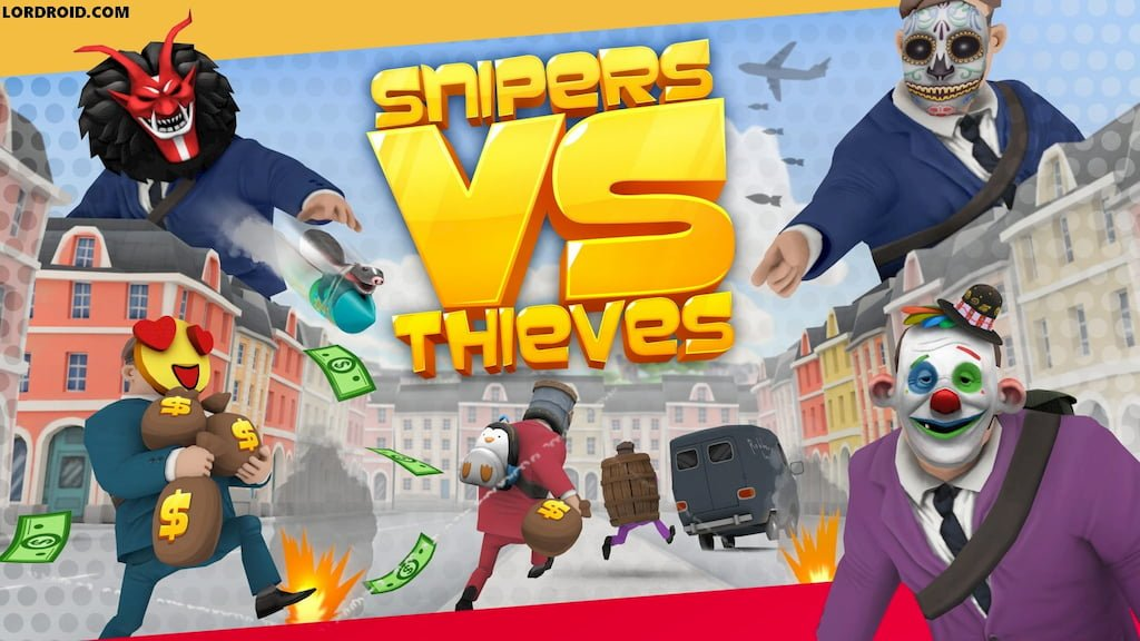 snipers vs thieves Cover