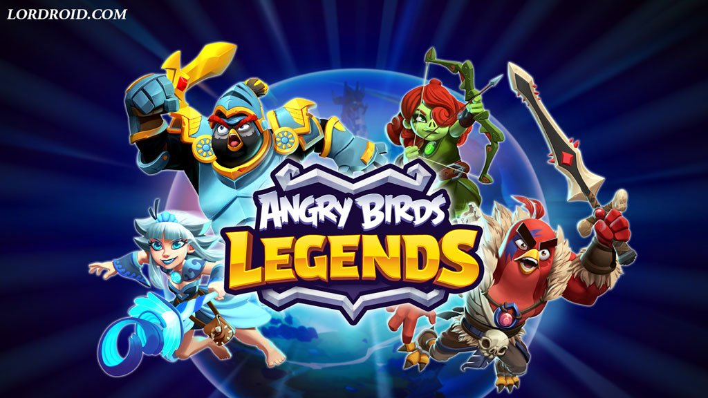 Angry Birds Legends Cover
