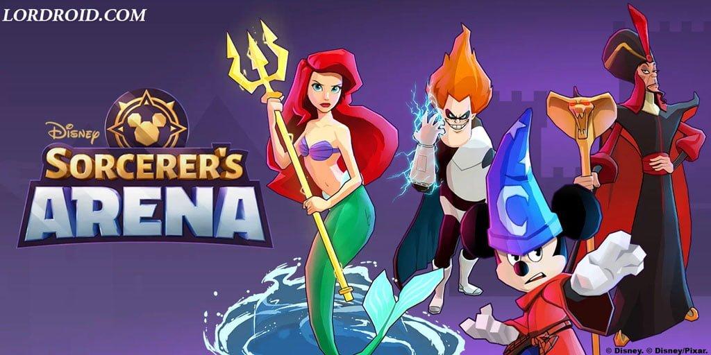 Disney Sorcerer's Arena Cover