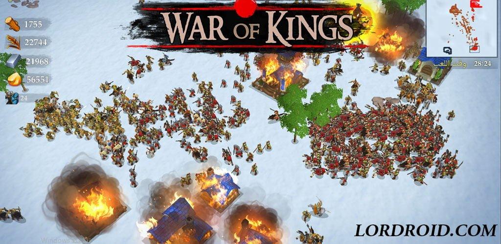 دانلود War of Kings - بازی نبرد پادشاهان اندروید