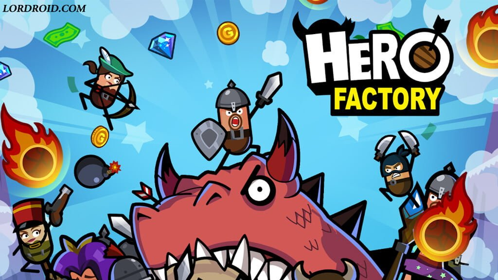 Hero Factory Android Game