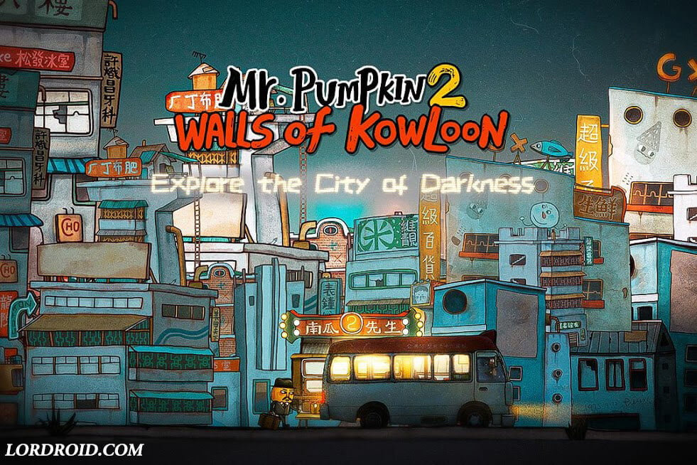 Mr Pumpkin 2 Walls of Kowloon Android Game