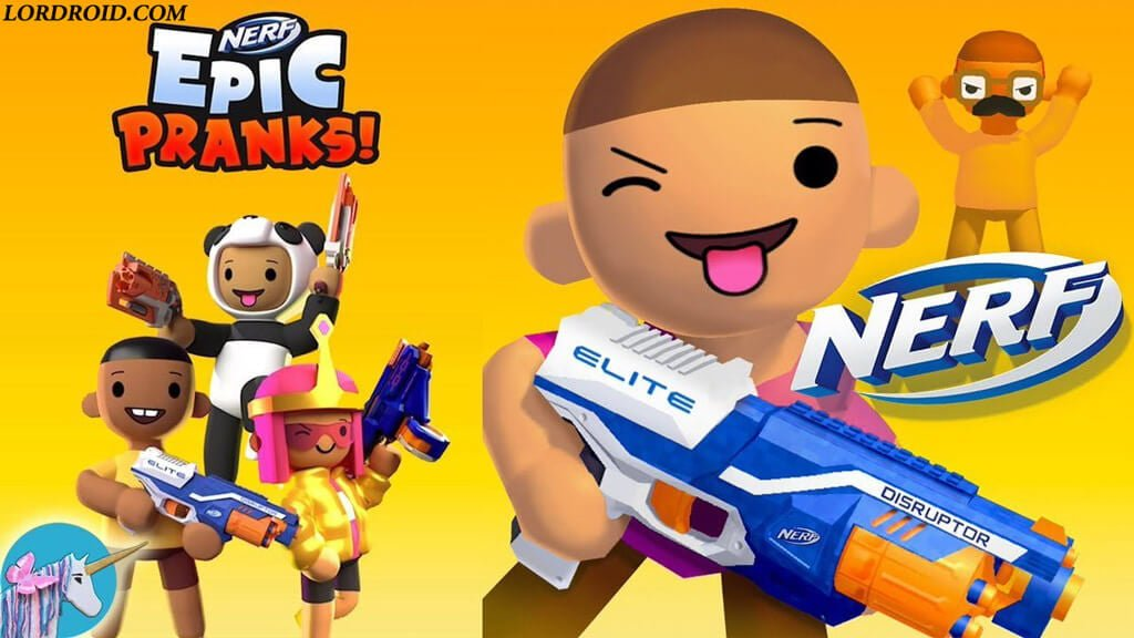 NERF Epic Pranks Android Game