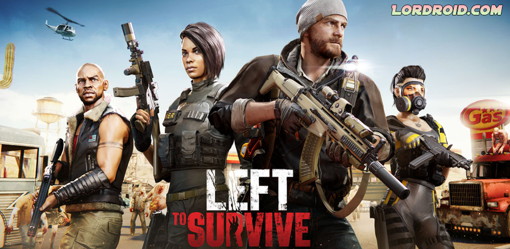 Left to Survive Cover