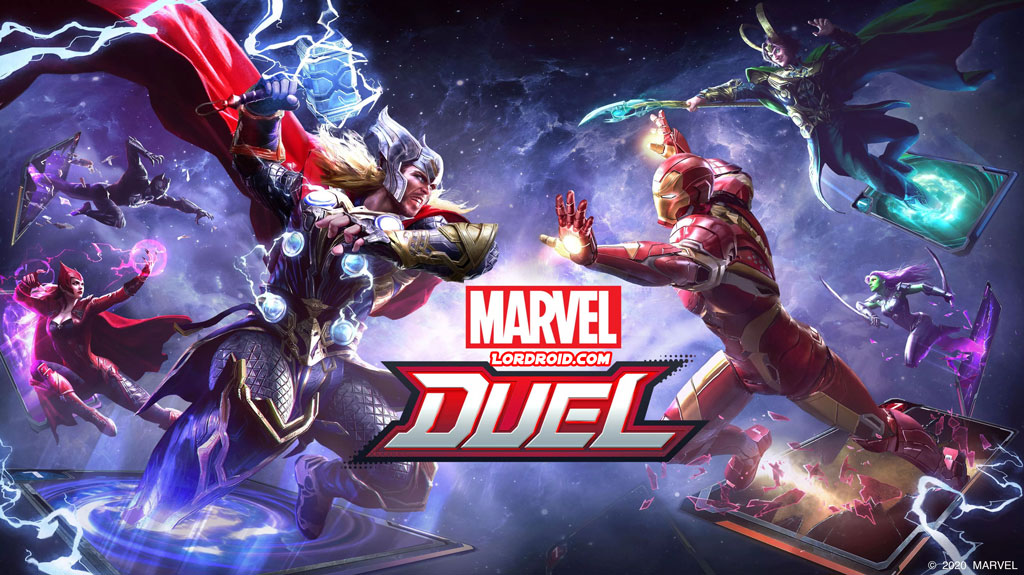 Marvel Duel Cover