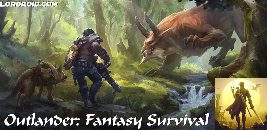 Outlander Fantasy Survival Cover