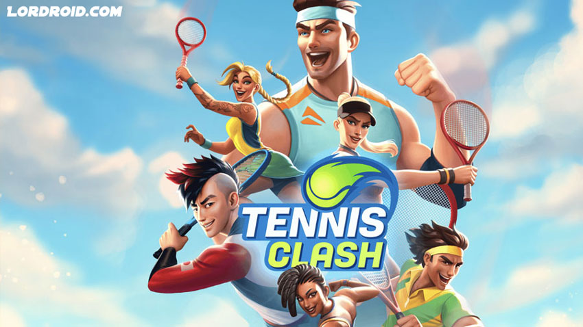 Tennis Clash Cover