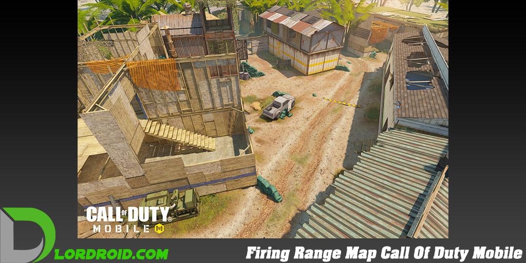 نقشه Firing Range در Call Of Duty Mobile