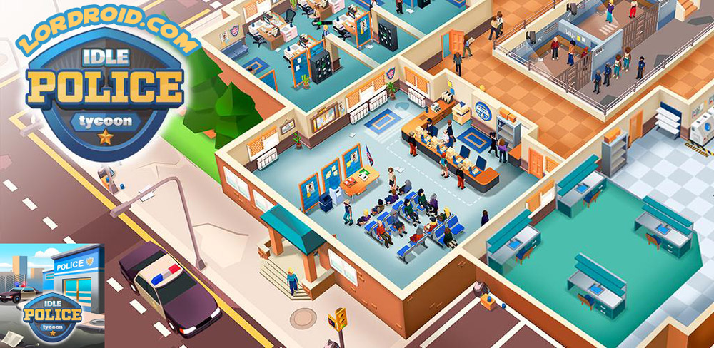 Idle Police Tycoon Cover