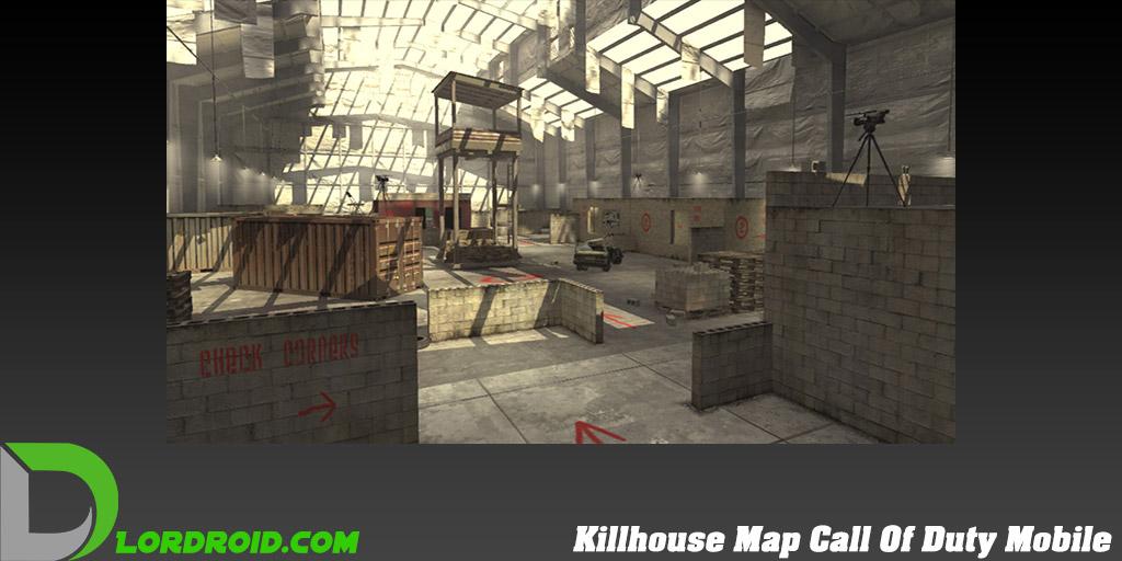 نقشه Killhouse در Call Of Duty Mobile