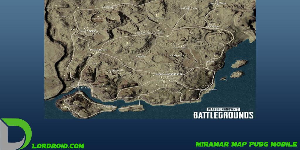 نقشه Miramar پابجی موبایل