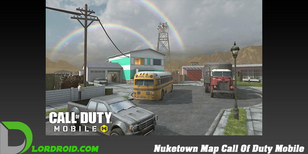 نقشه Nuketown در Call Of Duty Mobile