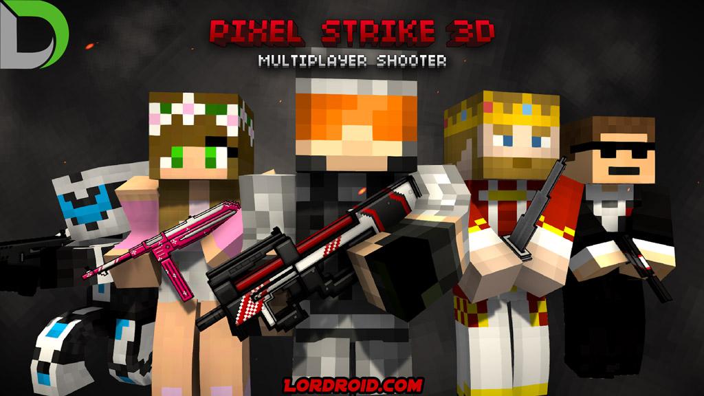 Pixel Strike 3D Cover