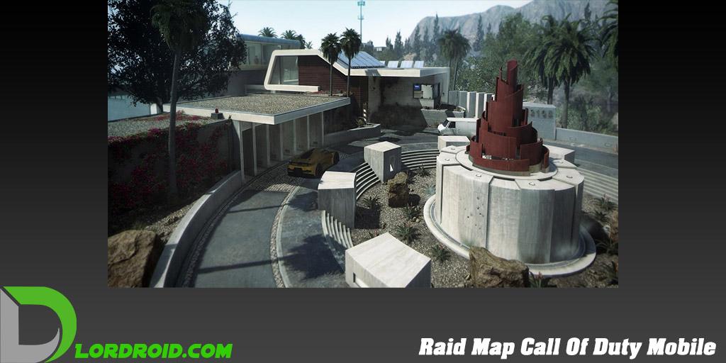 نقشه Raid در Call Of Duty Mobile