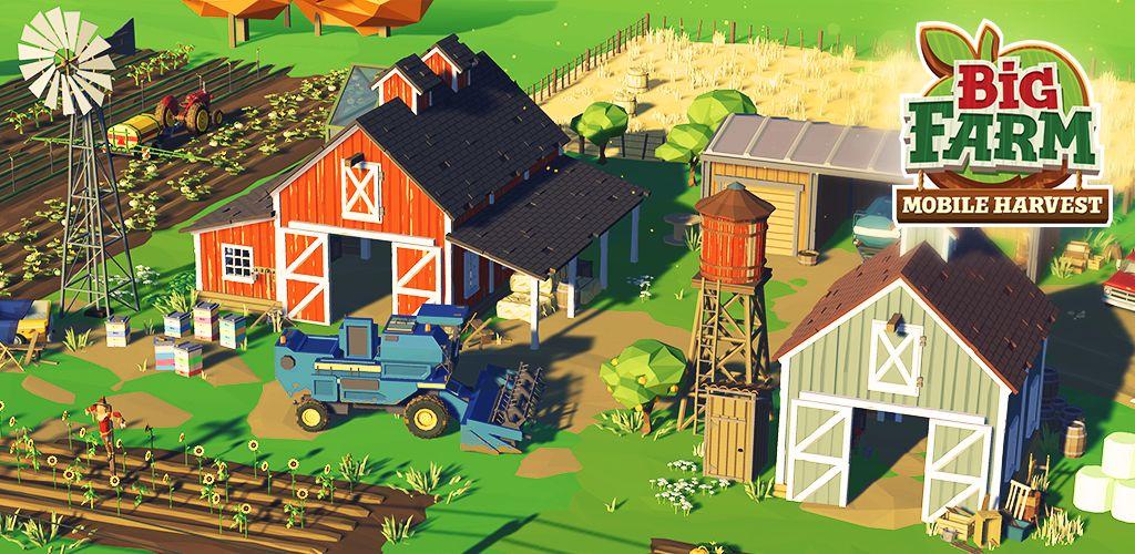 Big Farm Mobile Harvest Cover