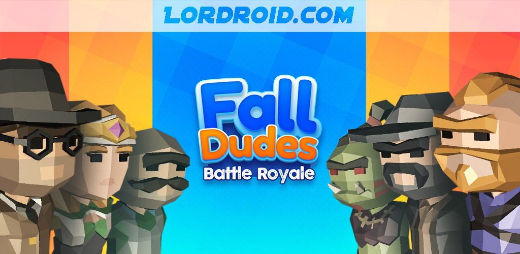 Fall Dudes 3D Cover