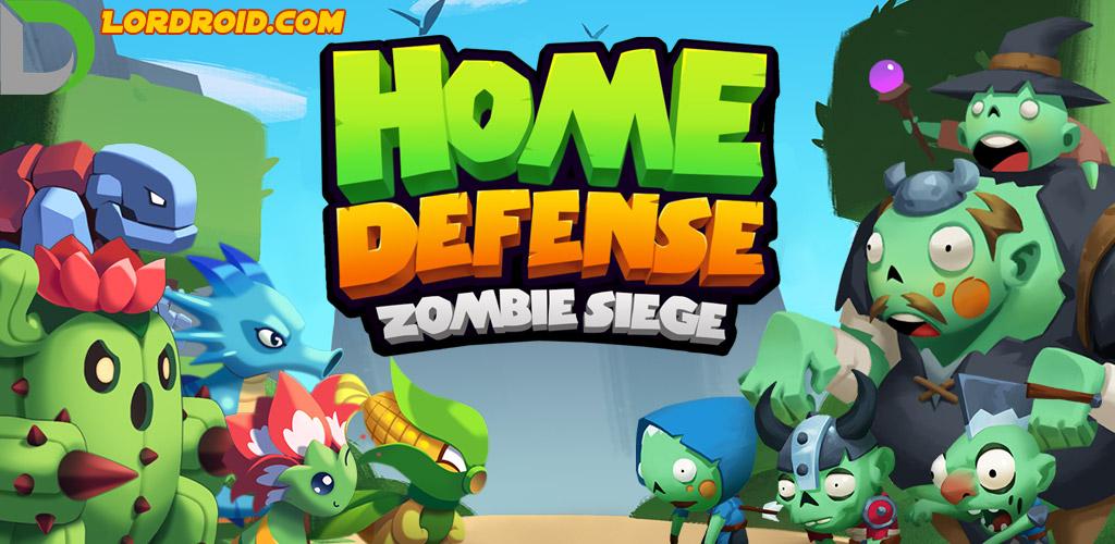 بازی Home Defense Zombie Siege اندروید