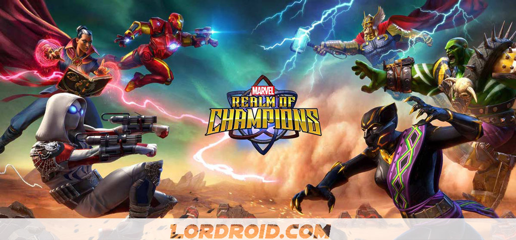 Marvel Realm of Champions Cover