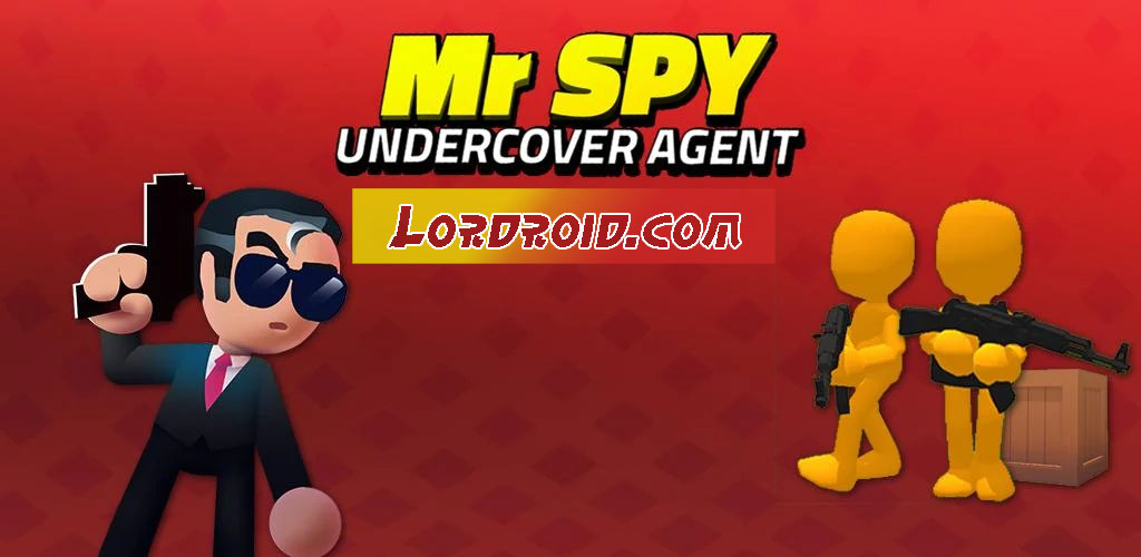 Mr Spy Undercover Agent Cover