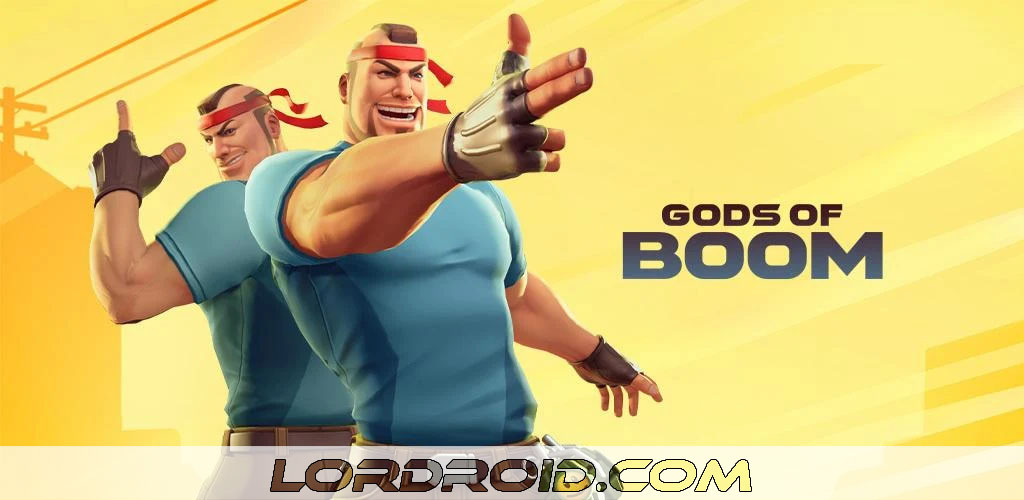 Gods of Boom Cover
