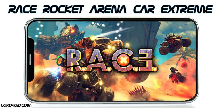 دانلود RACE Rocket Arena Car Extreme - بازی ریس اندروید