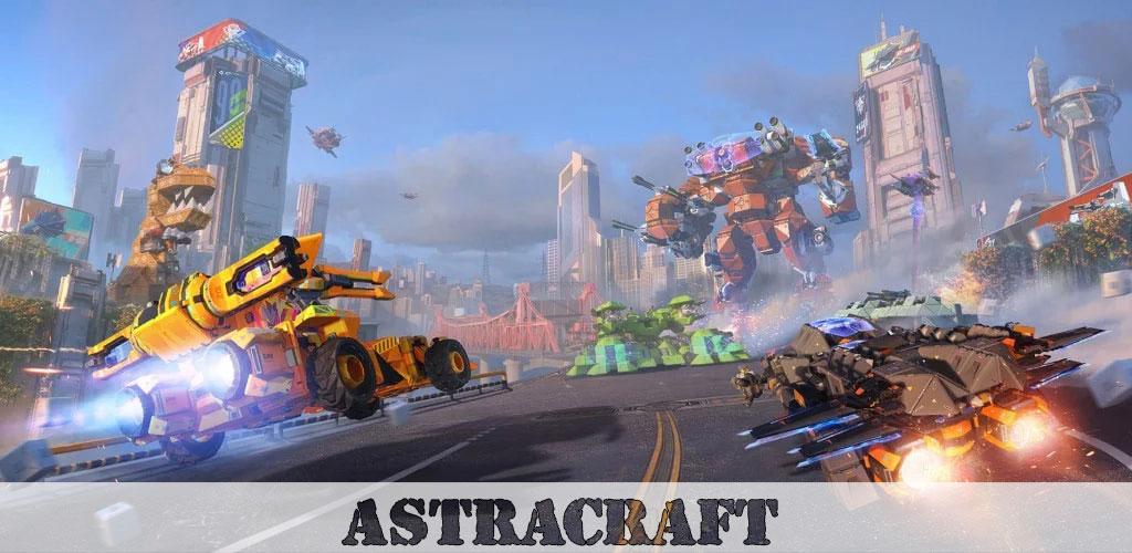 دانلود Astracraft - بازی سفینه فضایی اندروید