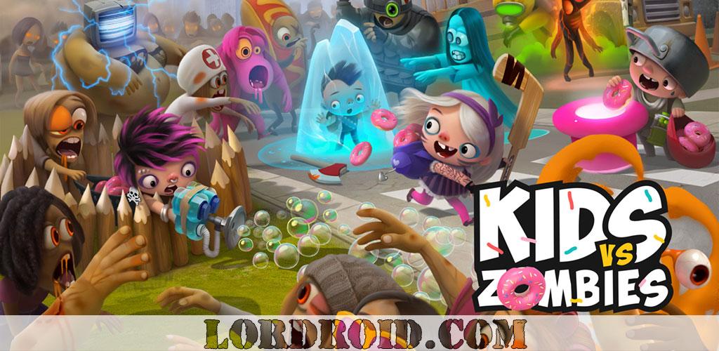 دانلود Kids vs Zombies - بازی زامبی و کودکان اندروید