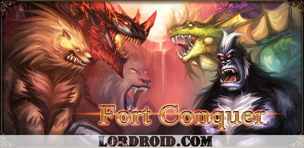 دانلود Fort Conquer - بازی تسخیر قلعه اندروید + مود