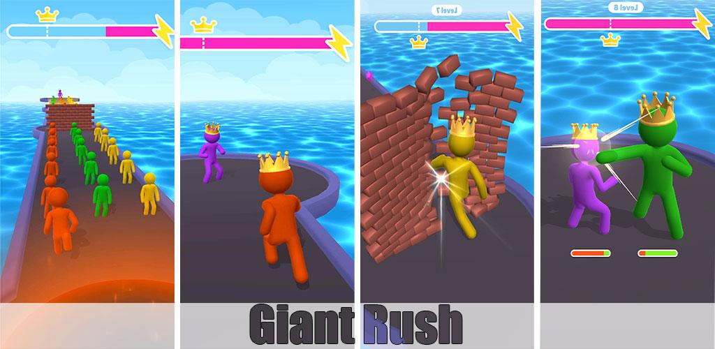 دانلود هک بازی Giant Rush اندروید + مود