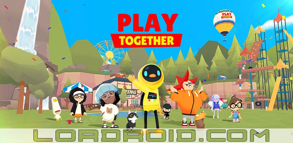 دانلود بازی با یکدیگر اندروید - Play Together